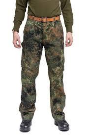 Bw Cargo Pants Flecktarn Surplus