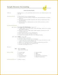 Objective Accounting Resumes Resume Objective For Accounting Mwb Online Co