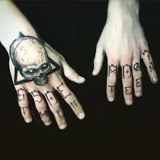 татуировка на кисти у парня череп фото рисунки эскизы