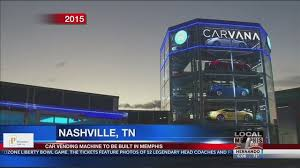 Auto Vending Machine Nashville Simple Carvana The Car Vending Machine Is Coming To Memphis
