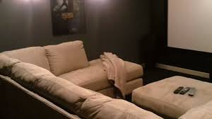 inexpensive home theater seating. Man Cave DIY Home Theater On A Budget With 12 Foot Diagonal Screen - YouTube Inexpensive Seating E