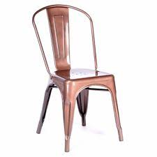 xavier pauchard french industrial dining room furniture. tolix metal dining chair copper dark rose gold cafe stackable factory seconds xavier pauchard french industrial dining room furniture