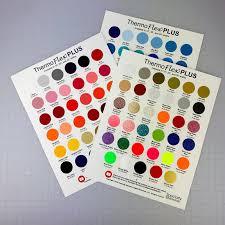 Thermoflex Plus Color Chart Set