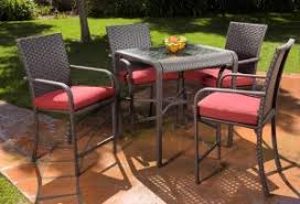 home trends patio furniture. hometrends rushreed 5piece patio dining set replacement cushions home trends furniture a