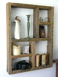 rustic wood wall shelves awesome best images on of reclaimed diy bookshelves