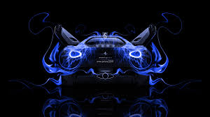 ferrari sergio back fire abstract car