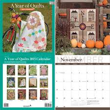 Perfect quilter gifts: 2015 quilting calendars (+ 4 giveaways ... & A Year of Quilts 2015 Calendar Adamdwight.com