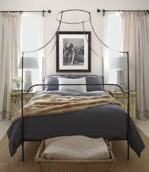 Wrought Iron Beds with also iron canopy bed frame with also king ...