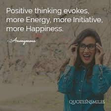 Quotes About Positive Thinking 100 Power of Positive Thinking Quotes Famous Quotes Love Quotes 84