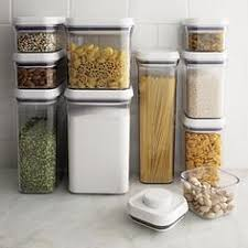 OXO 10-Piece Pop Container Set in Top Kitchen Storage | Crate and Barrel
