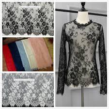 <b>3M</b>/<b>Lot</b> Classical Design Nylon Dress <b>Eyelash</b> Lace Trim Soft <b>Black</b> ...