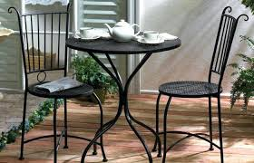 modern outdoor ideas medium size outdoor bistro table pub sets cafe set metal and chairs wayfair