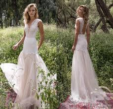 discount limor rosen 2017 country wedding dresses illusion bodice