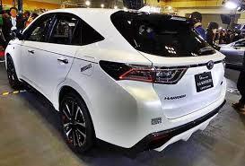 2018 toyota venza. Beautiful 2018 2018toyotaharrierhybridback And 2018 Toyota Venza U