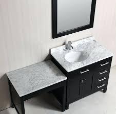 makeup vanity with sink um size of bathroom vanity makeup table double sink bathroom vanity with makeup table bathroom vanity makeup vanity between