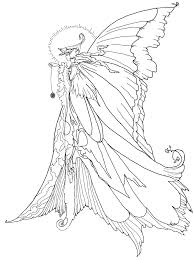 Small Picture Fairy Coloring Pages For Adults Fairy Coloring Pages