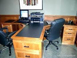 two desk home office. Two Person Desk Home Office Furniture For People 2 Computer