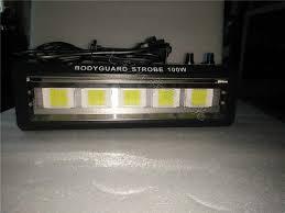 high power dmx sound control 100w white lighting led strobe grille lamp disco party dj