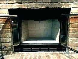 fireplace replacement panels firebrick panels fireplace