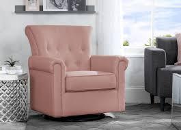 swivel rocking chairs for living room. Delta Children Blush (636) Harper Nursery Glider Swivel Rocker Chair (525310), Rocking Chairs For Living Room I