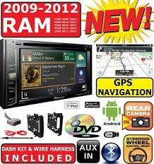 2012 dodge ram radio ebay 2012 Dodge Ram Radio Harness 2009 2012 dodge ram pioneer navigation double din dvd radio stereo bluetooth bt 2012 dodge ram radio harness