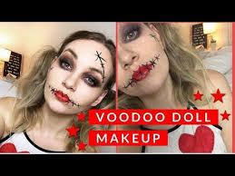 voodoo doll makeup you