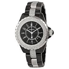 jomadeals chanel j12 diamond date quartz ceramic watch h1338 picture of chanel h1338