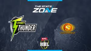 Macdonald, who had previously worked with head coach lisa keightley at perth scorchers in the women's big bash league, joined the squad on tuesday. 2019 20 Big Bash League Sydney Thunder Vs Perth Scorchers Preview Prediction The Stats Zone
