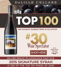 Delille Cellars Blog Wine Spectator Top 100 2015