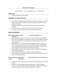 12 Medical Assistant Resume Objective Statement | New Hope Stream ... Resume  Examples Sample