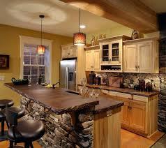 rustic kitchen island designs rustic small