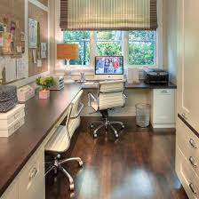 Small Picture Large corner office design for two Furniture placement Office