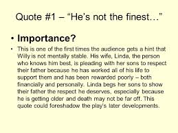 Death Of A Salesman Quotes Cool Death Of A Salesman Important Quotes SampleQuote 48 €�He's Not The