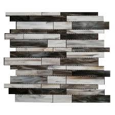 splashback tile matchstix tor 12 in x 12 in x 3 mm glass floor