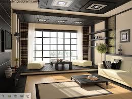 Japanese Inspired Room Design Japanese Inspired Living Room Plant Corner Beside Blinds Window