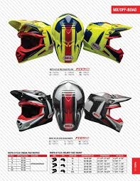 Bell Moto 8 Size Chart Bell Powersports Eu Catalog 2017 Pages 51 82 Text