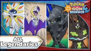 Pokemon Sun and Moon - ALL LEGENDARY POKEMON, TAPU, & ULTRA BEAST  Locations! [SM Tips & Tricks] - YouTube
