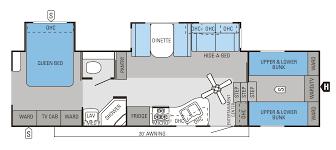 2016 eagle fifth wheels 31 5fbhs floorplan