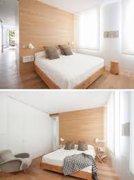 Light Wood And White Bedroom A Bright And Comfortable Apartment Interior Design In Madrid