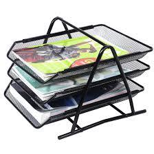 desk office file document paper. mesh letter sorter mail document tray desk office file organiser business black paper a