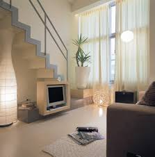 Home Designs: Open Staircase - Small Apartment