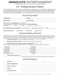 wedding planning contract templates wedding planner contract sample templates life hacks pinterest