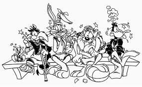 Small Picture Looney Tunes Coloring Pages All Characters Got Injured Looney