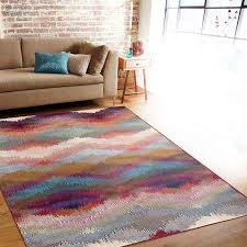 gigantic multi color area rugs com rug distressed modern geometric soft rug 5 3