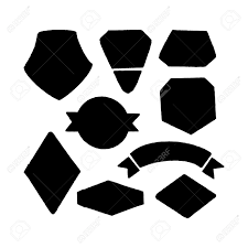 Vector Set For The Creation Of A Logo Hand Draw Icon Shapes