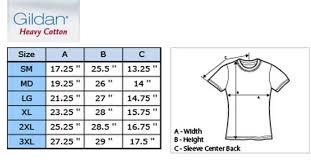 Gildan Cotton T Shirt Size Chart Gildan Ultra Cotton Sizing