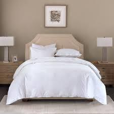 madison park signature cotton linen blend duvet cover