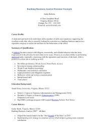 Business Intelligence Resumes Examples Sap Business Analyst Best
