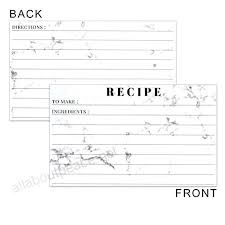 avery recipe card template 3 x 5 recipe cards semaphore pro