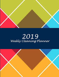 Weekly Household Chore List 2019 Weekly Cleaning Planner Colorful Triangle 2019 Weekly Cleaning Checklist Household Chores List Cleaning Routine Weekly Cleaning Checklist 8 5